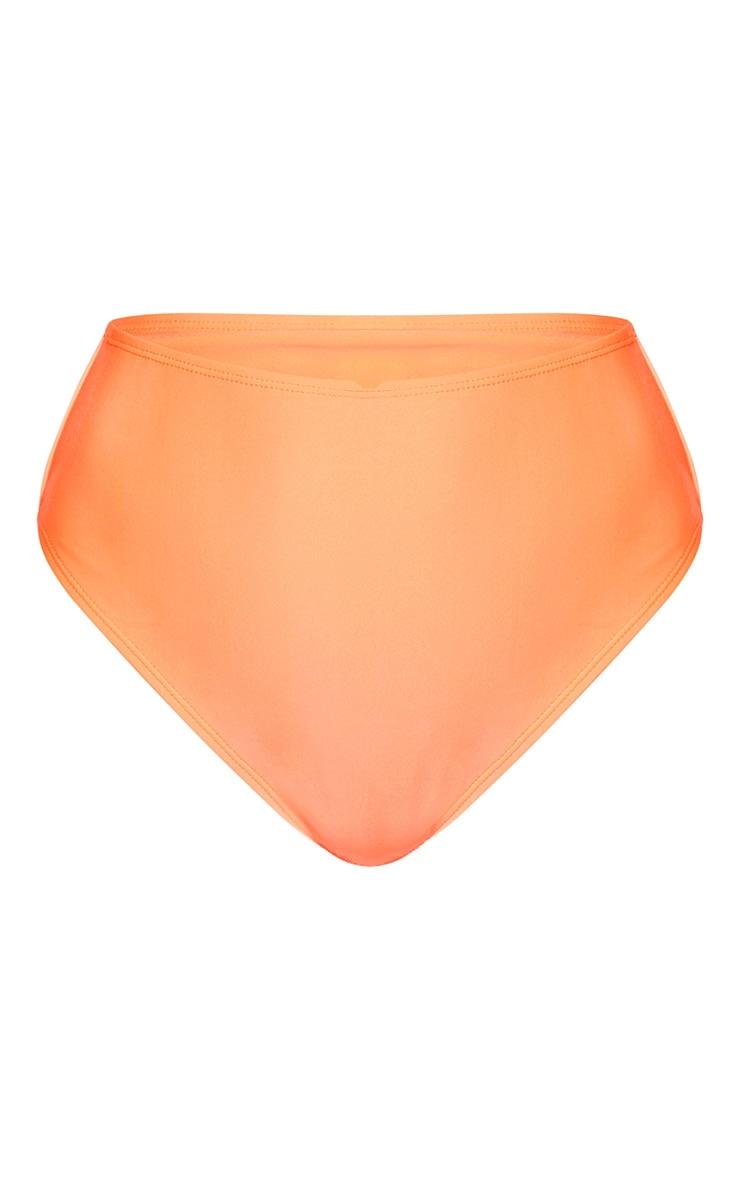 Coral Mix & Match High Waist Bikini Bottoms 6