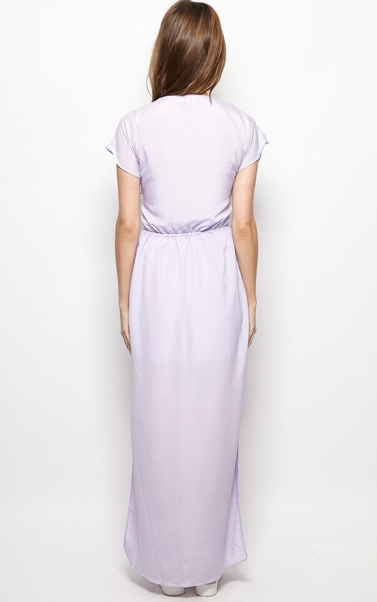 Faith Lilac Loose Fit Maxi Dress 2