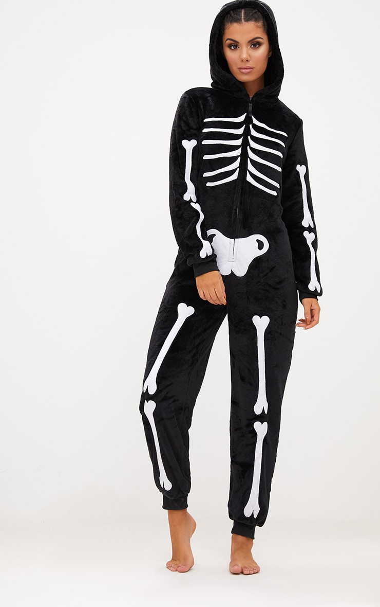Skeleton Onesie 1