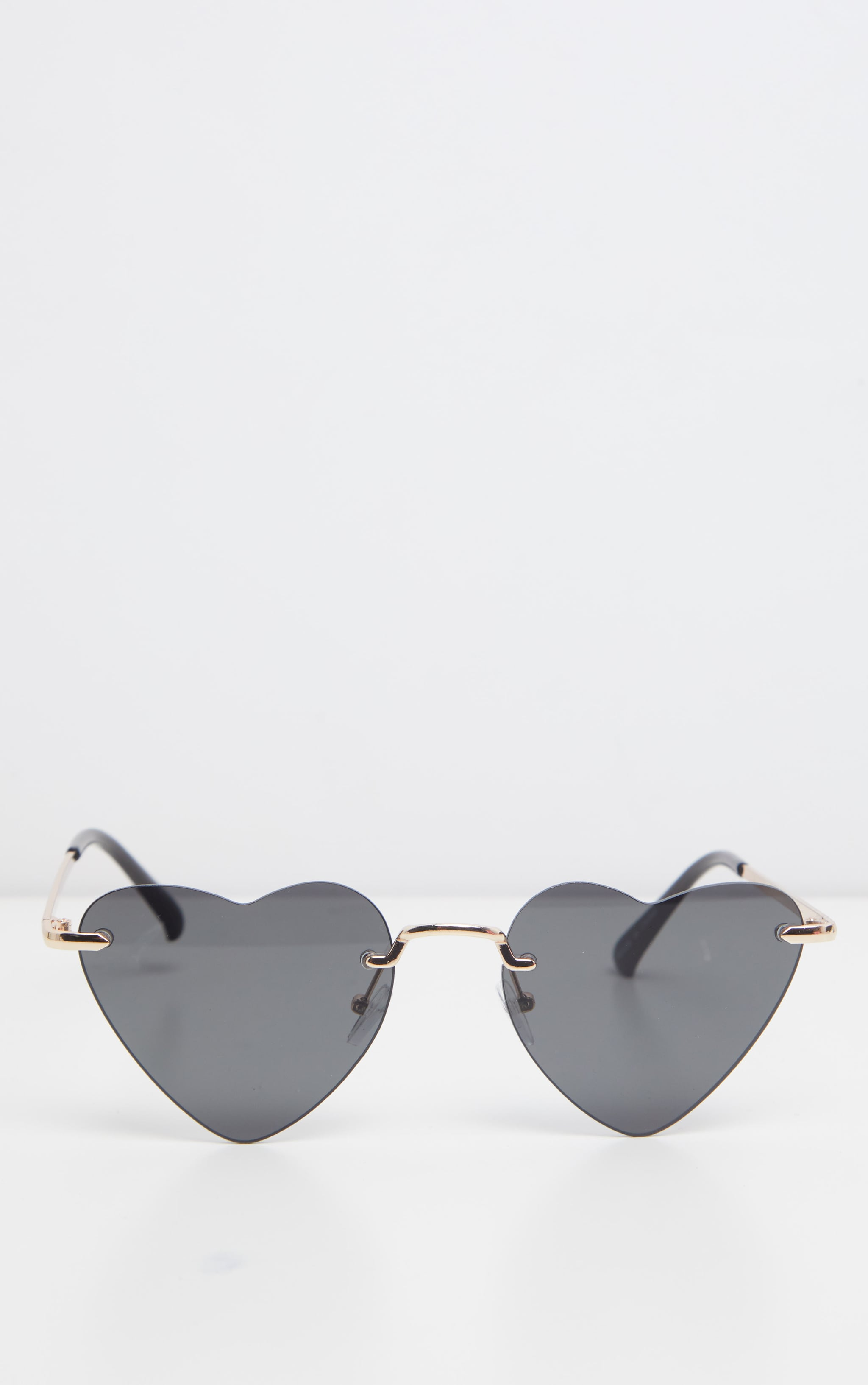 Black Heart Shaped Sunglasses 2