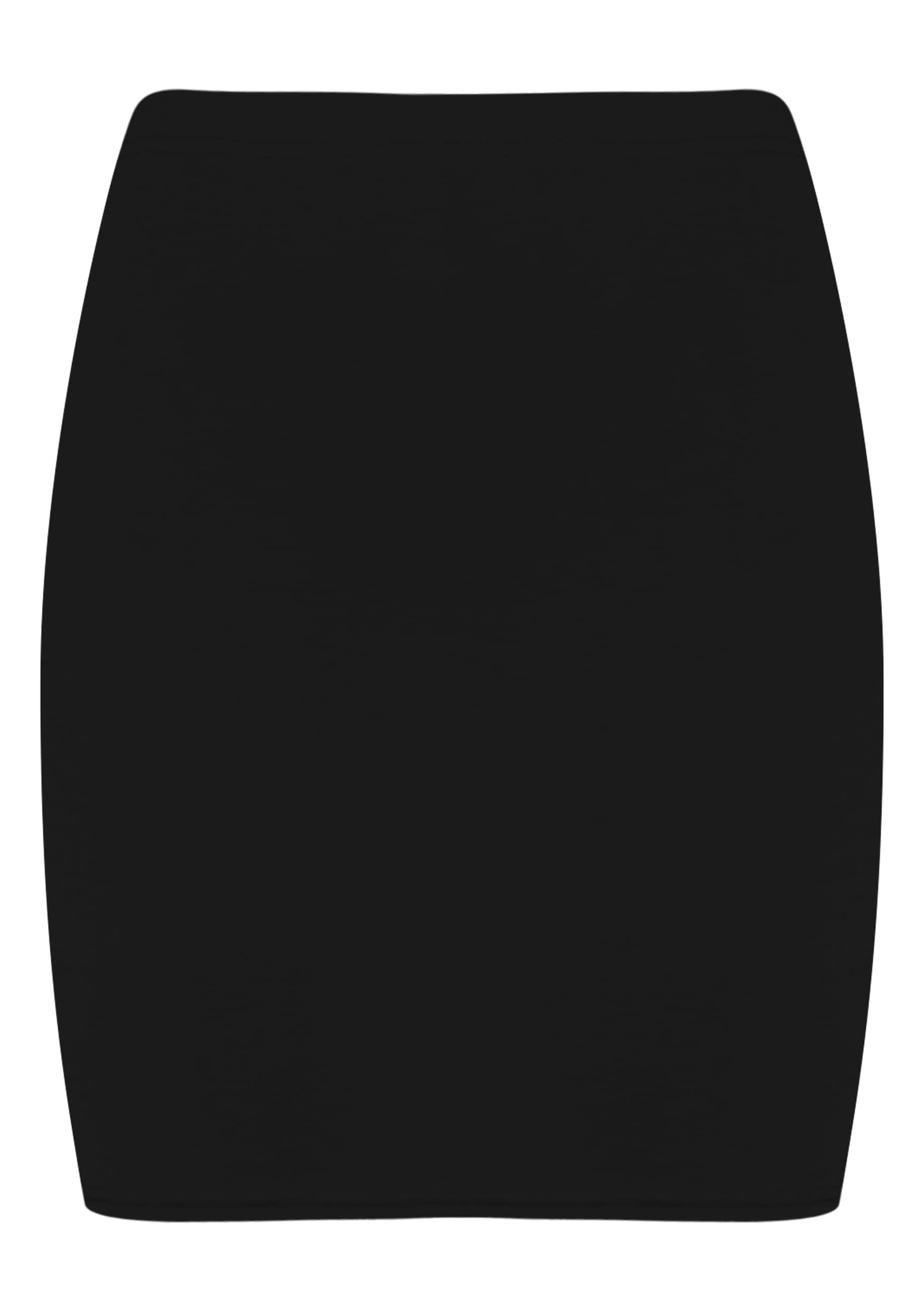 Emilia Black Crepe Mini Skirt 5