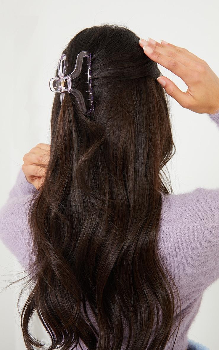 Lilac Hair Claw 1