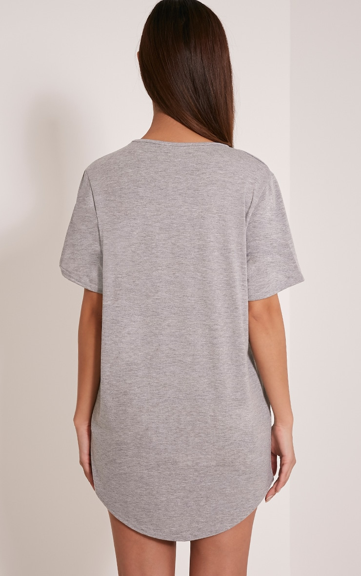 Best Bitches Grey Two Pack Oversized Nightshirt 7