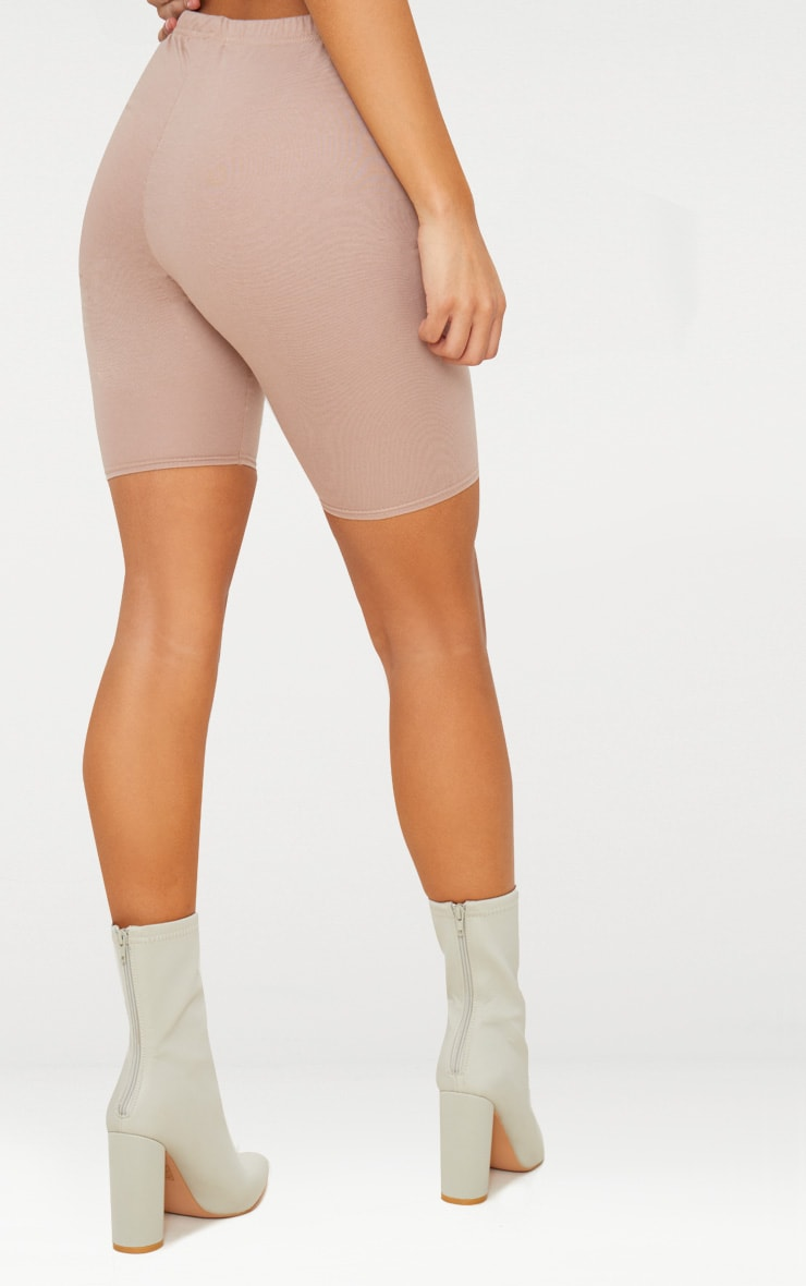 Taupe Cycling Shorts 4