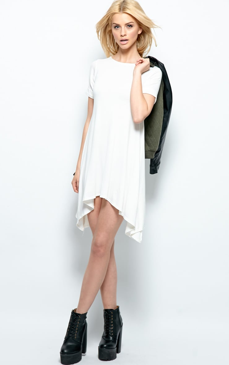 Kortney Cream Premium Jersey Swing Dress 3