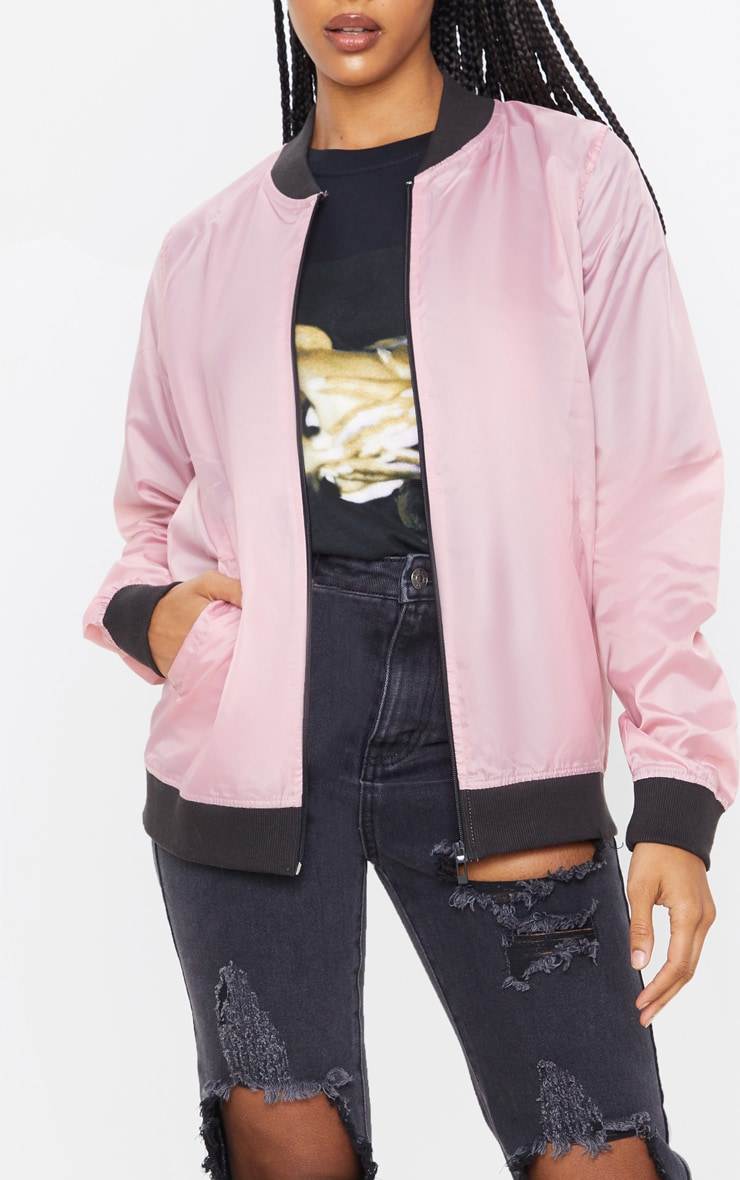 Rose Lightweight Bomber Jacket 5