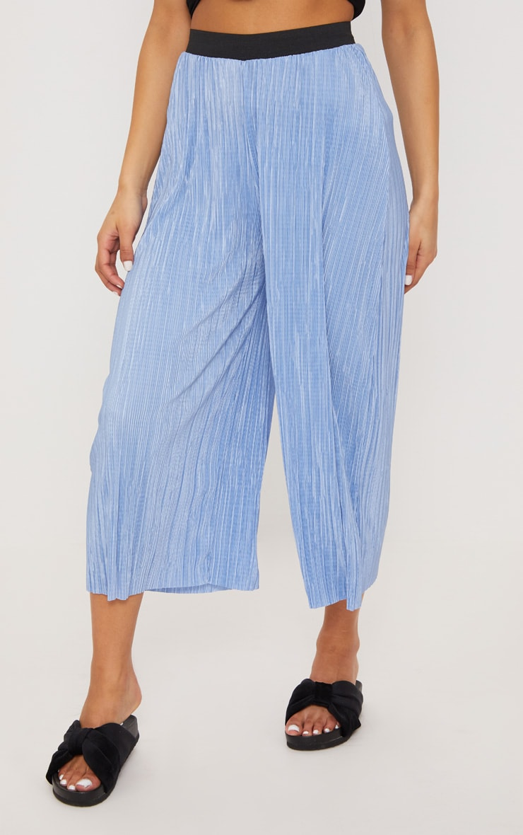 PRETTYLITTLETHING Dusty Oversized Plisse Culotte Clearance Marketable How Much Cheap Online Cheap Fashionable Lowest Price Gvr7oCRE