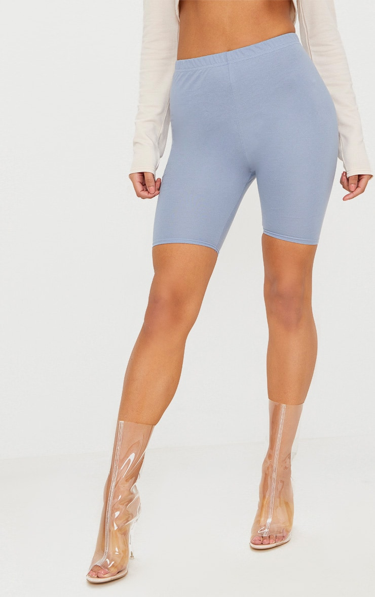Dusky Blue Cycling Shorts 2