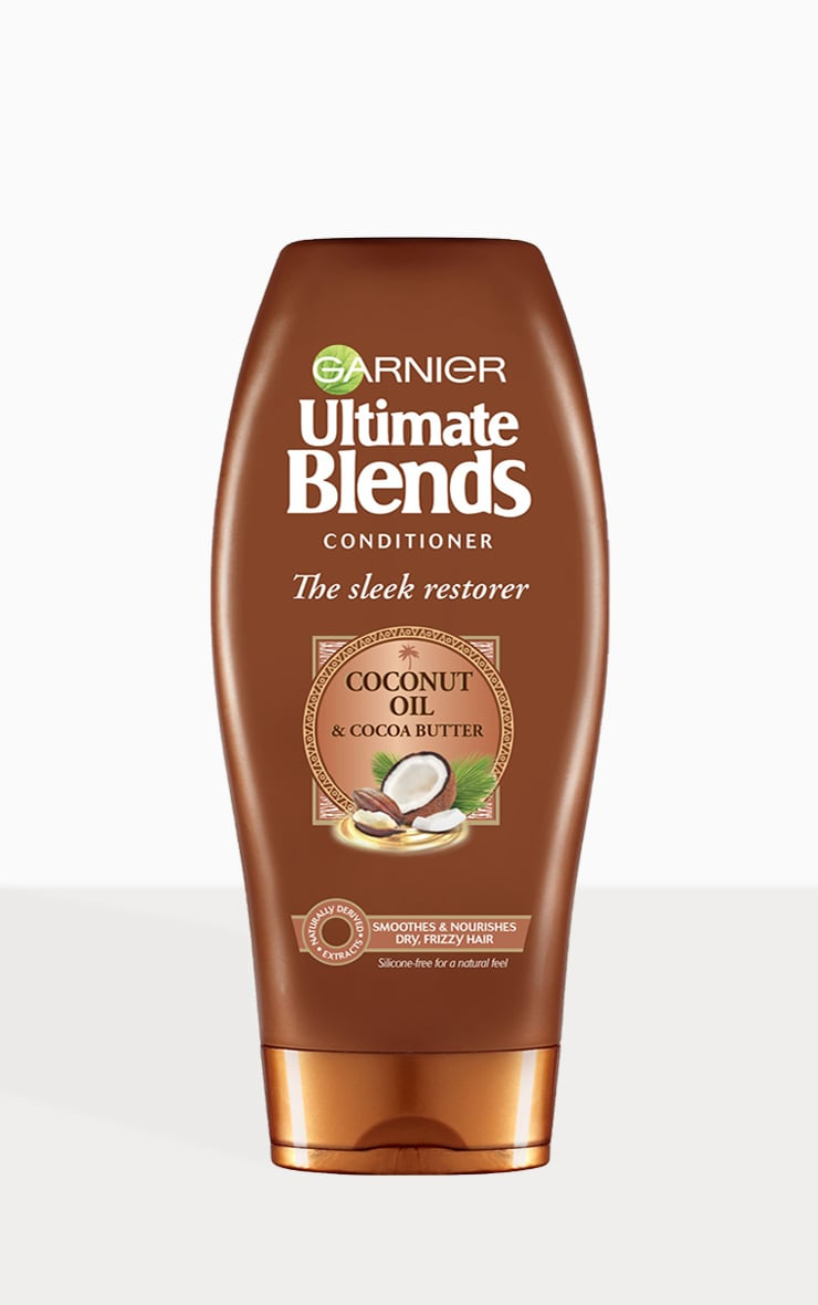 Garnier Ultimate Blends Coconut Oil & Cocoa Butter Conditioner for Curly Hair 360ml 1