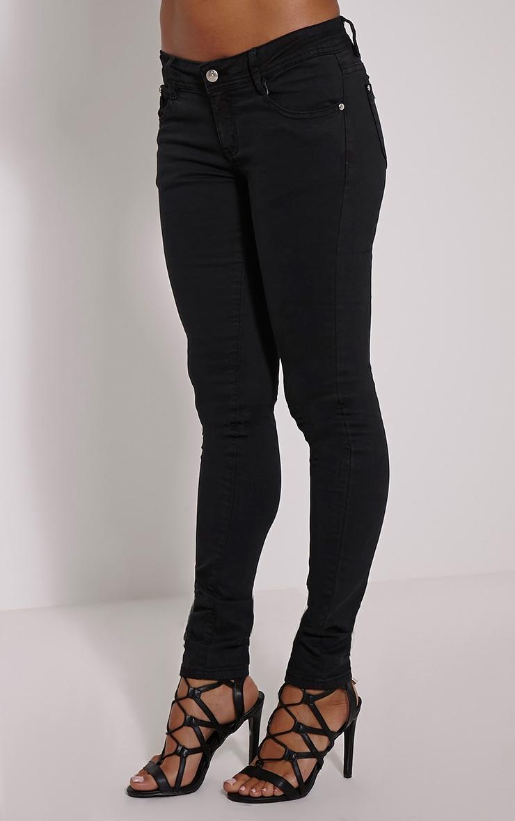 Hailey Black Skinny Jean 3