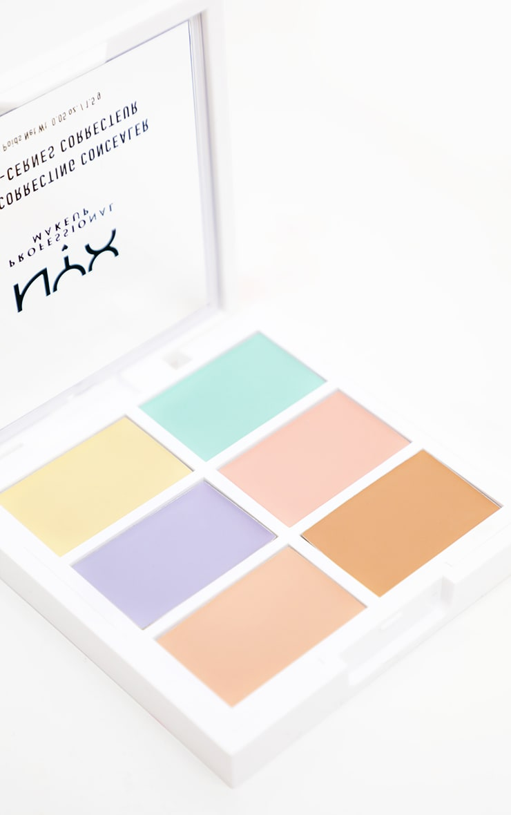 NYX Professional Makeup Colour Correcting Palette  3