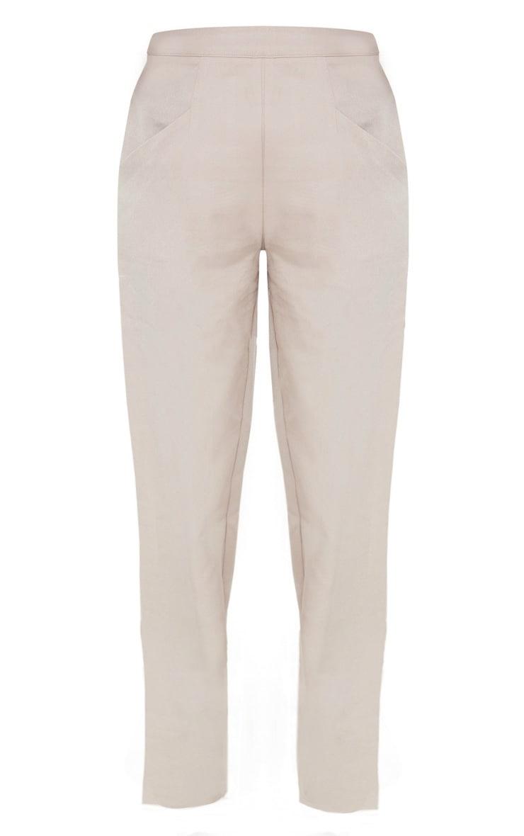 Petite Stone Multi Pocket Straight Leg Cargo Trouser 3