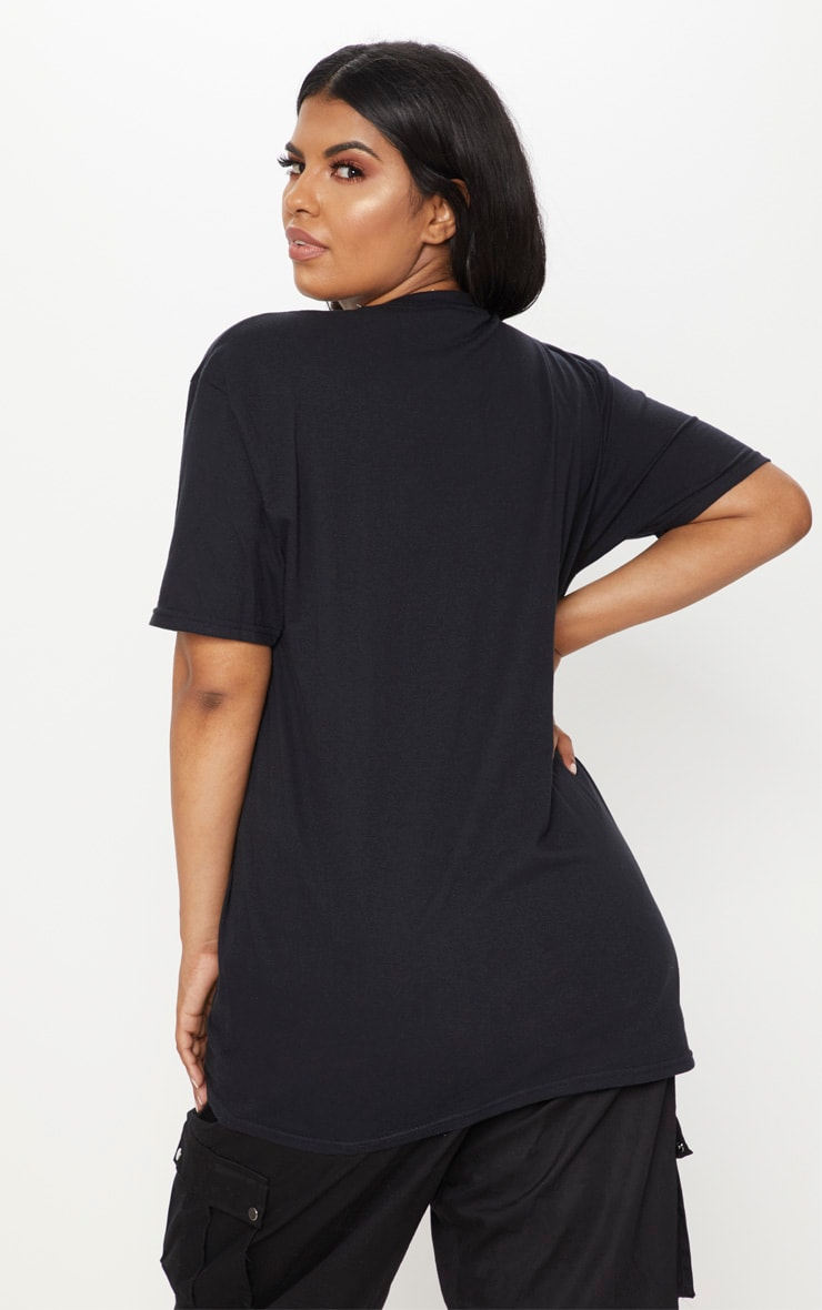 Plus Black Copacabana T-Shirt 2