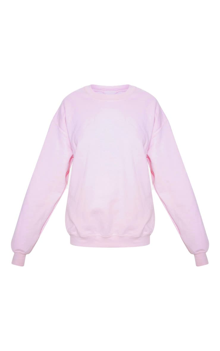 Baby Pink Ultimate Oversized Sweater 3