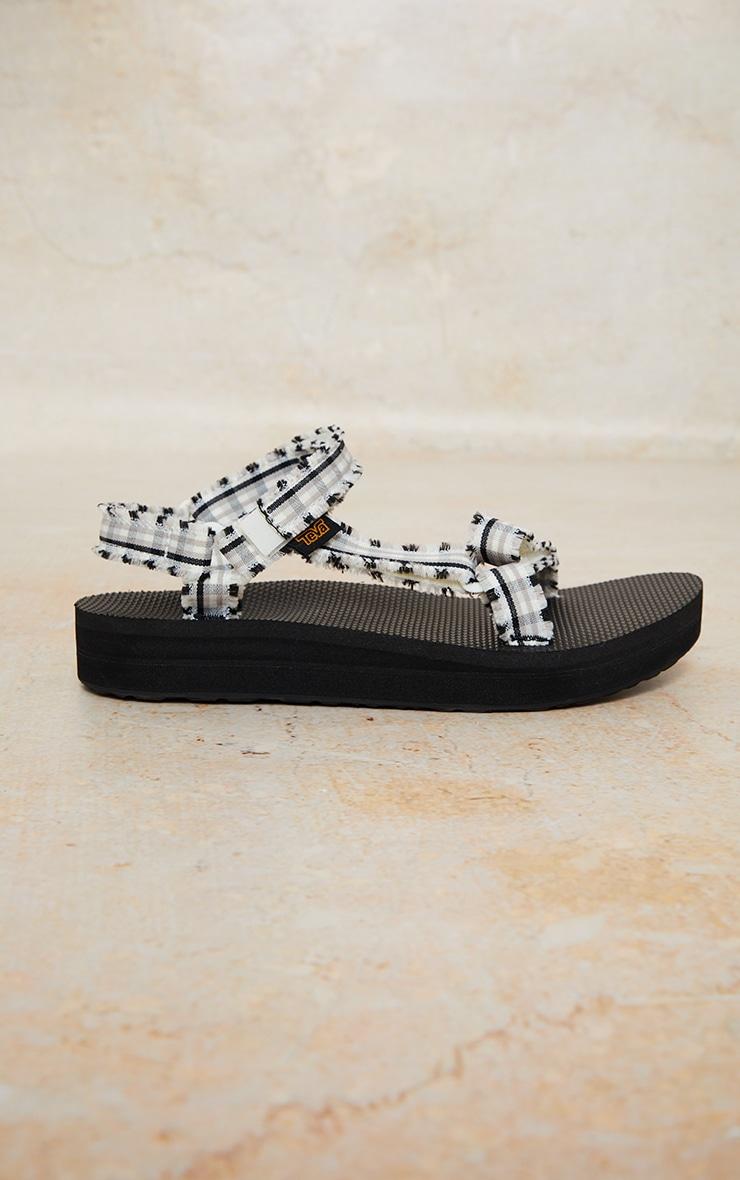 TEVA - Sandales noires et blanches - Midform Fray 3