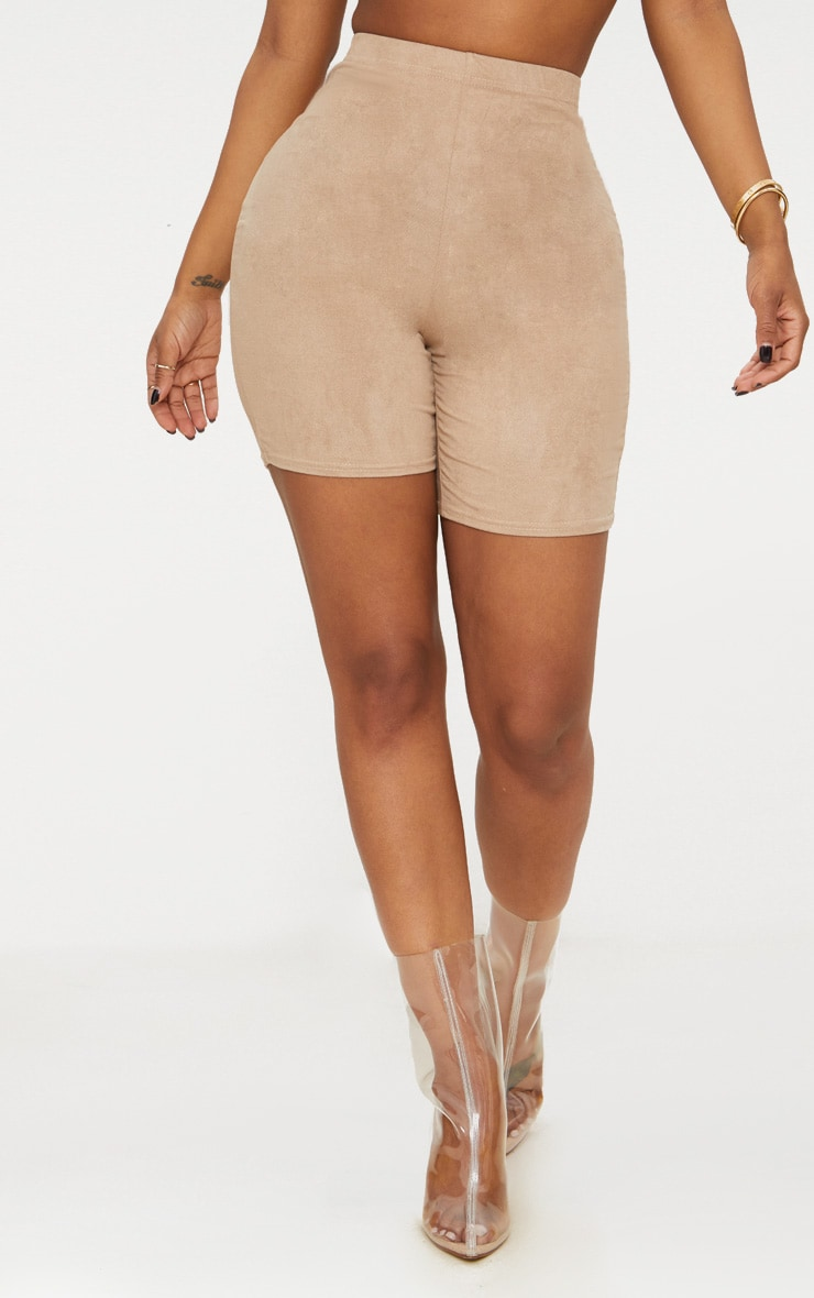 Shape Stone Faux Suede Cycling Shorts 2