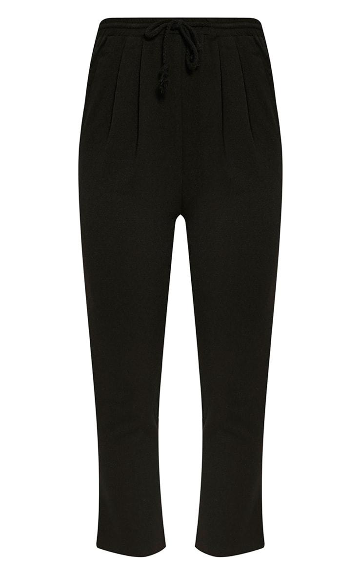 Diya Black Cropped Pants 3