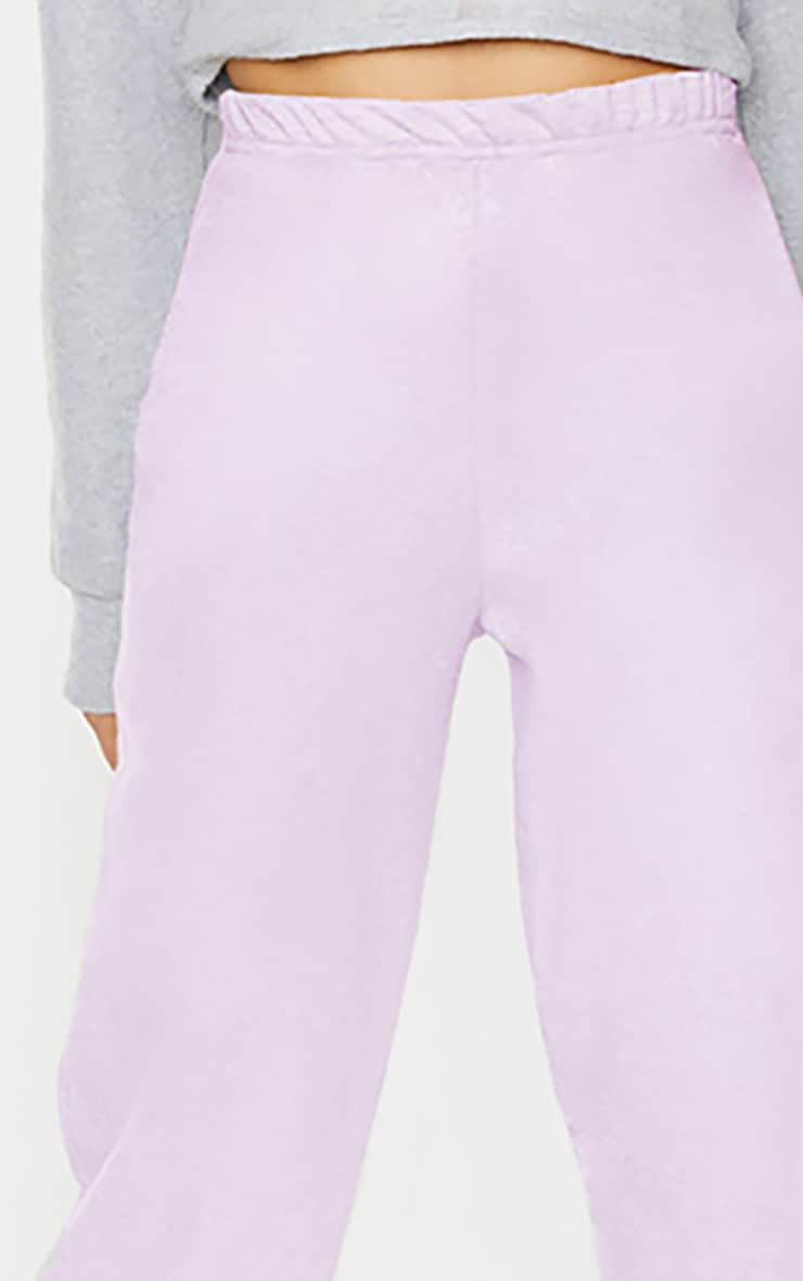 Tall Lilac Basic Cuffed Hem Joggers 3