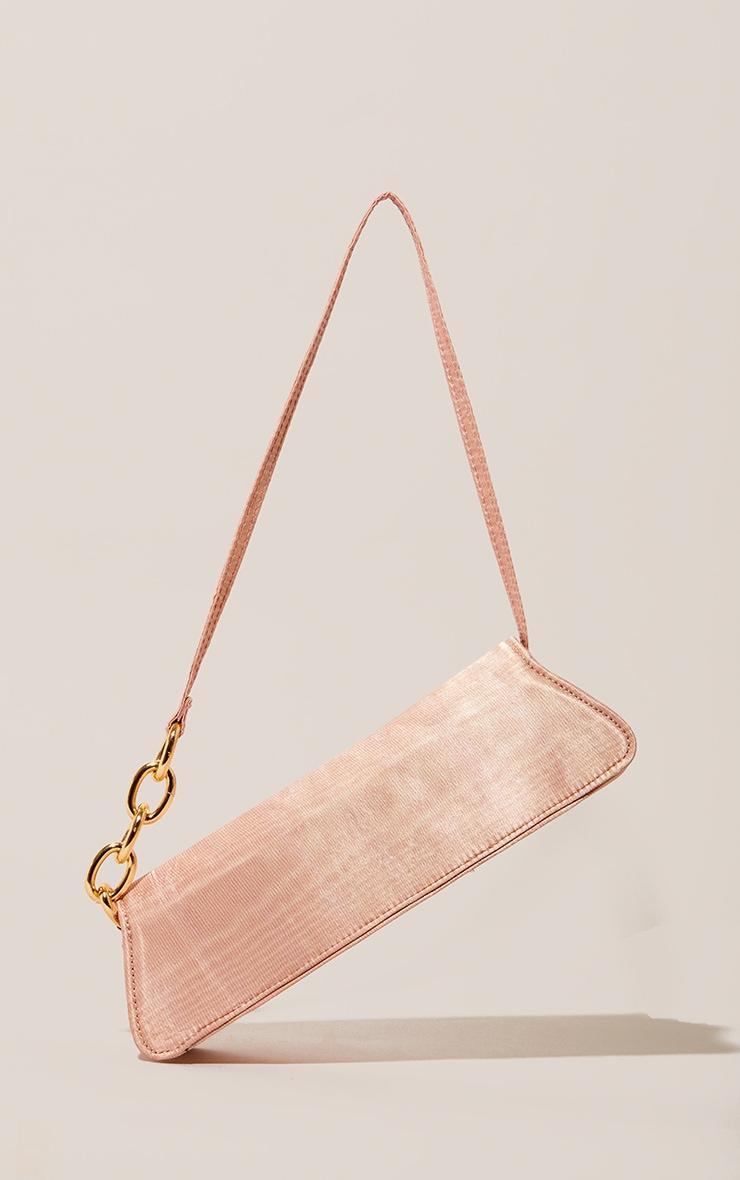 Pink Thin Baguette Bag 2