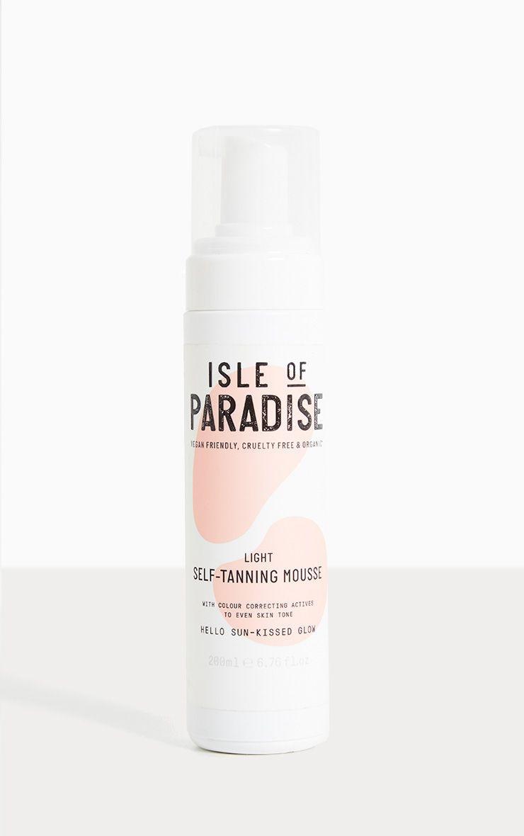 Isle Of Paradise- Mousse autobronzante claire 4