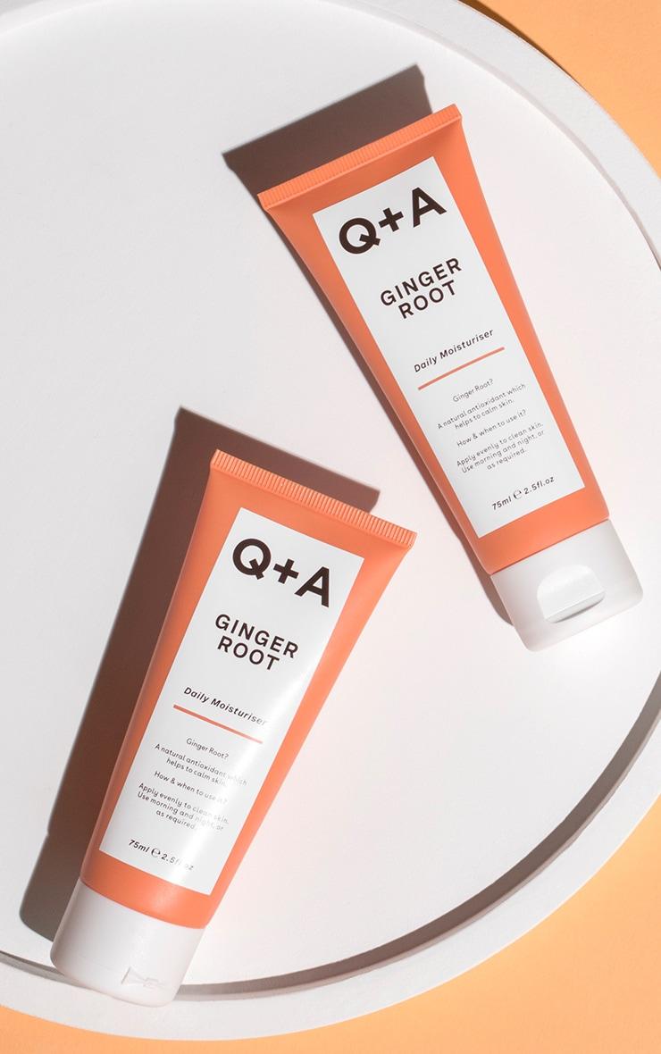 Q+A Ginger Root Daily Moisturiser 75ml 4