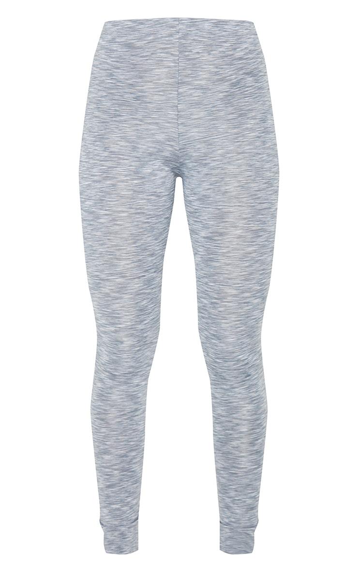 Light Grey Marl High Waist Gym Legging 5