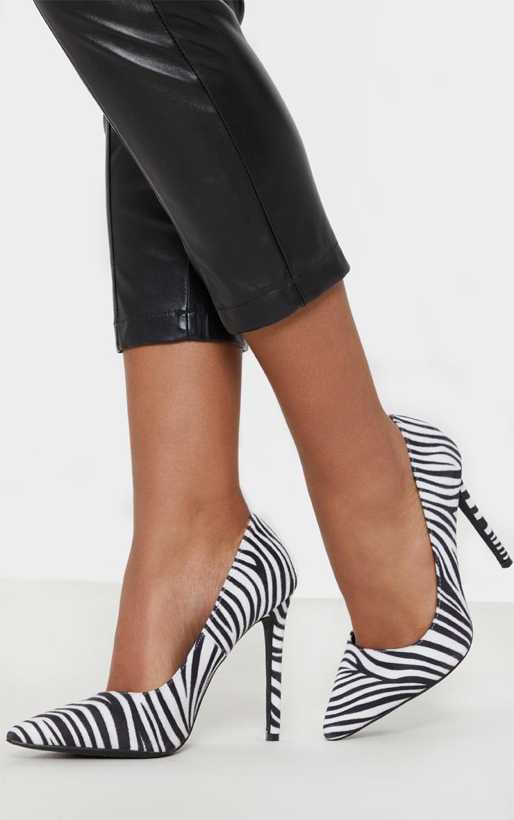 Zebra Heeled Court 2