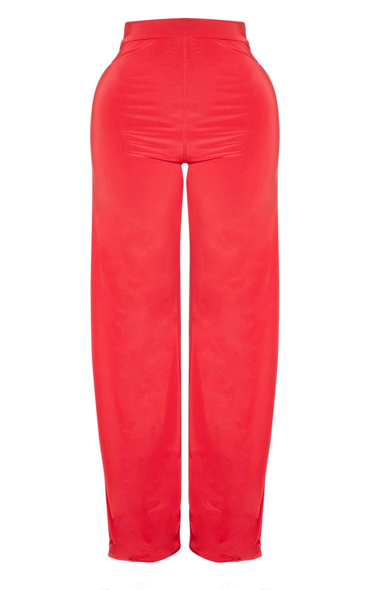 Shape Red Slinky Wide Leg Trouser 3
