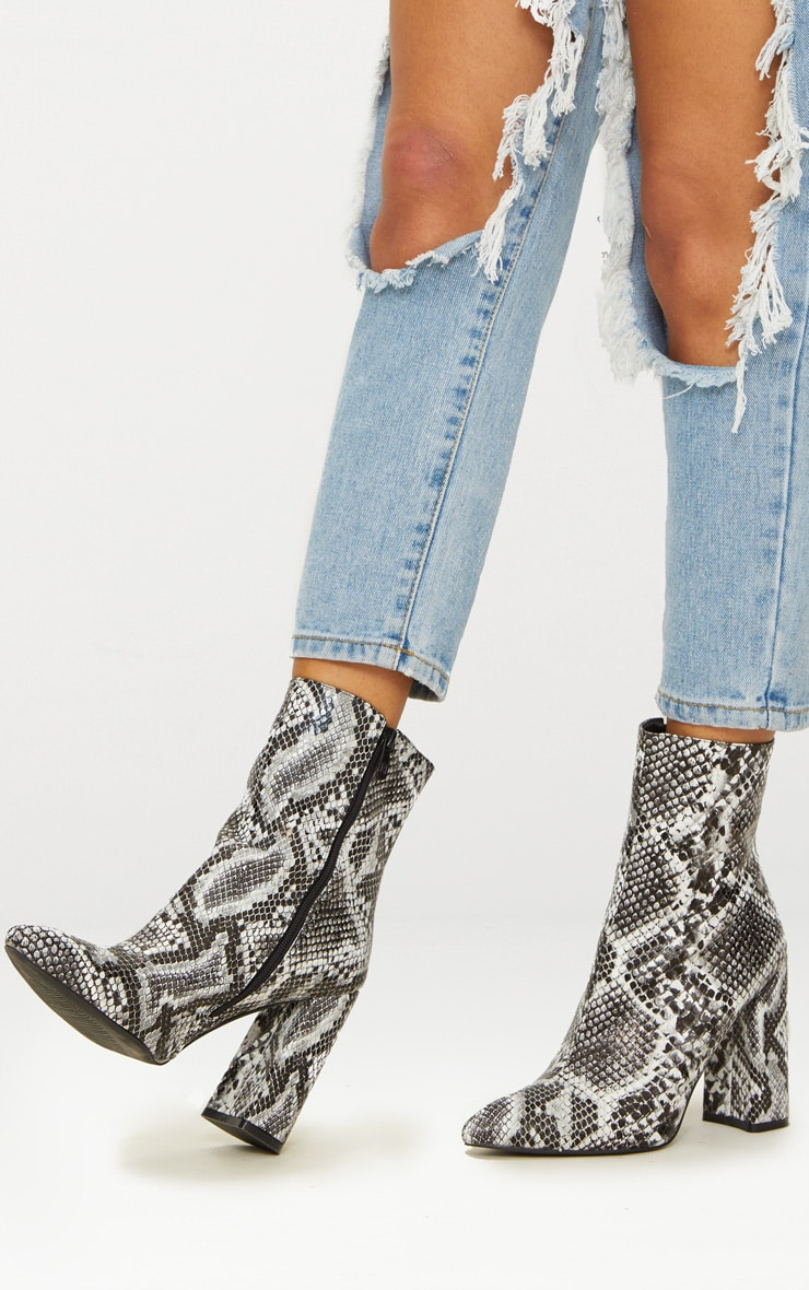 Black Snake High Point Ankle Boot