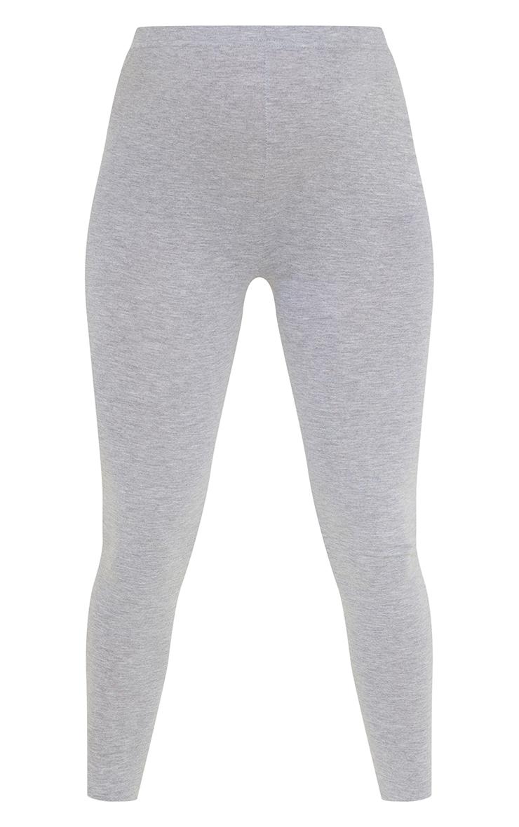 Maternity Grey Cotton Leggings 5