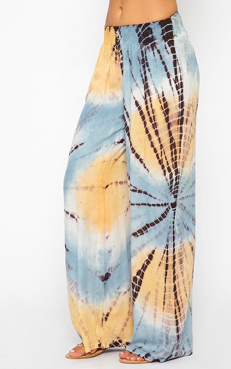 Kimora Tie Dye Palazzo Trousers 4