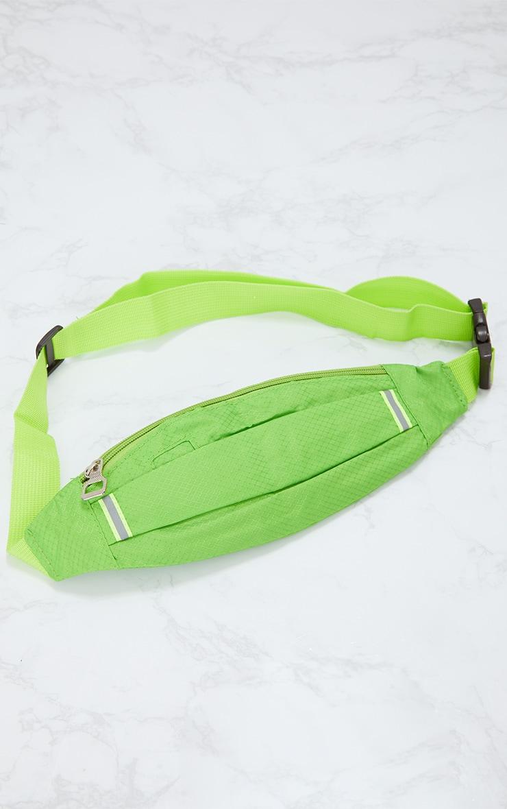 Lime Basic Bum Bag 2