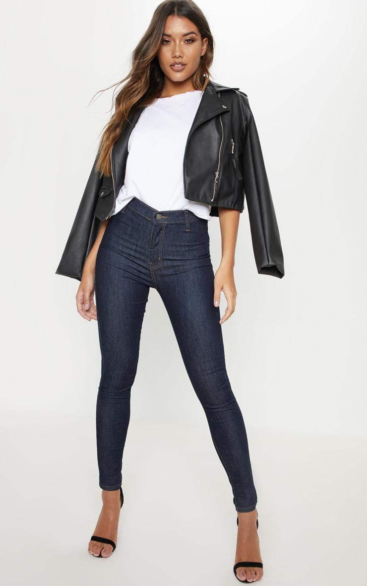 Indigo Disco Fit Skinny Jeans