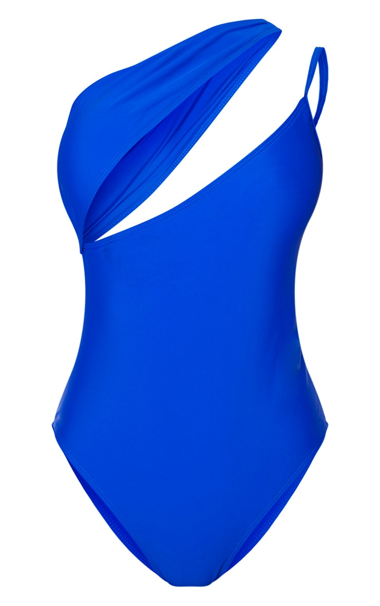 Cobalt Asymmetric Double Strap Swimsuit 3