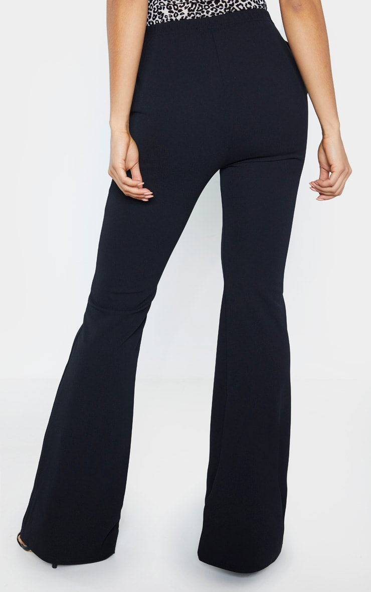 Tall Black  Pleat Detail Pants 4