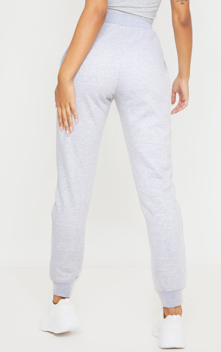 Grey Reflective Contrast Binding Jogger 4