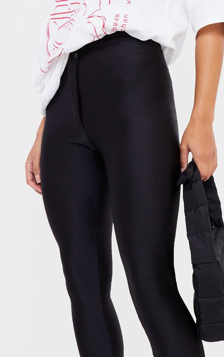 Black Second Skin Disco Pant 4