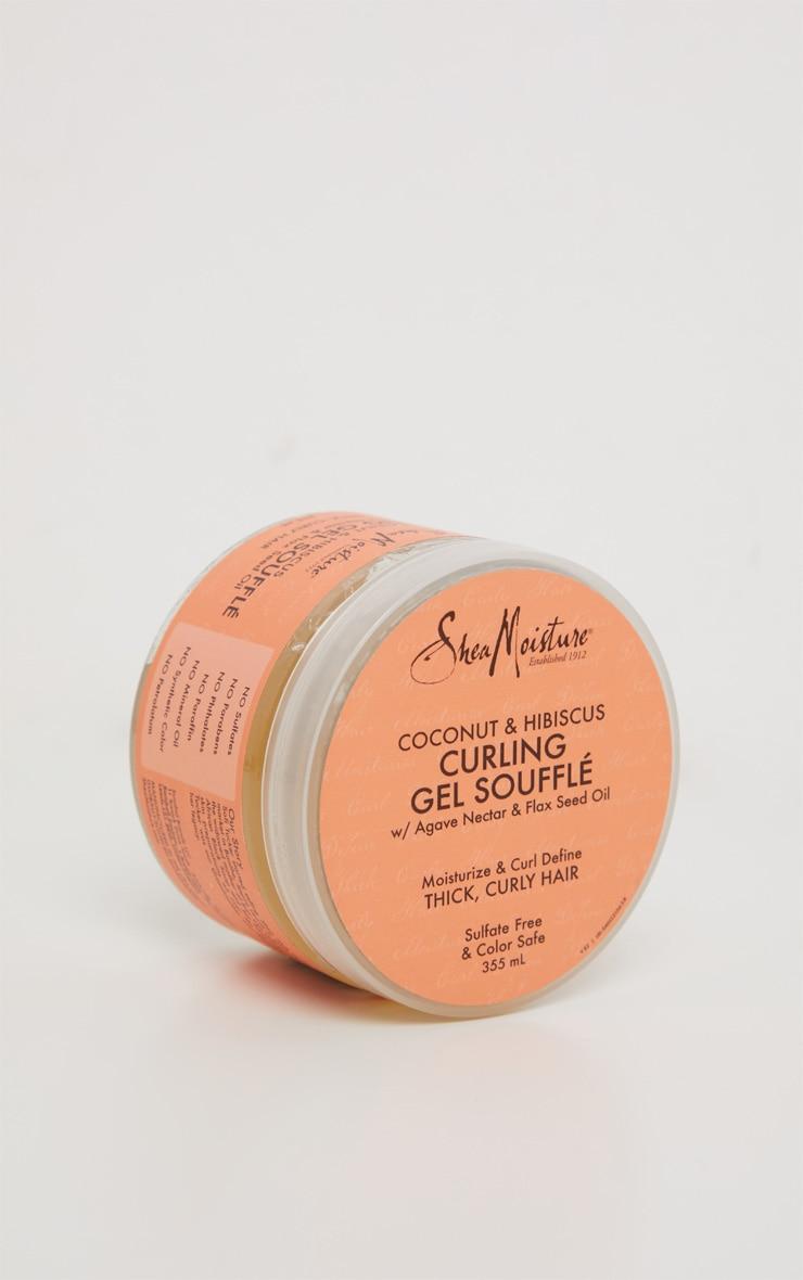 Shea Moisture - Gel soufflé à la noix de coco et à l'hibiscus pour cheveux Curl & Shine - 355ml 3