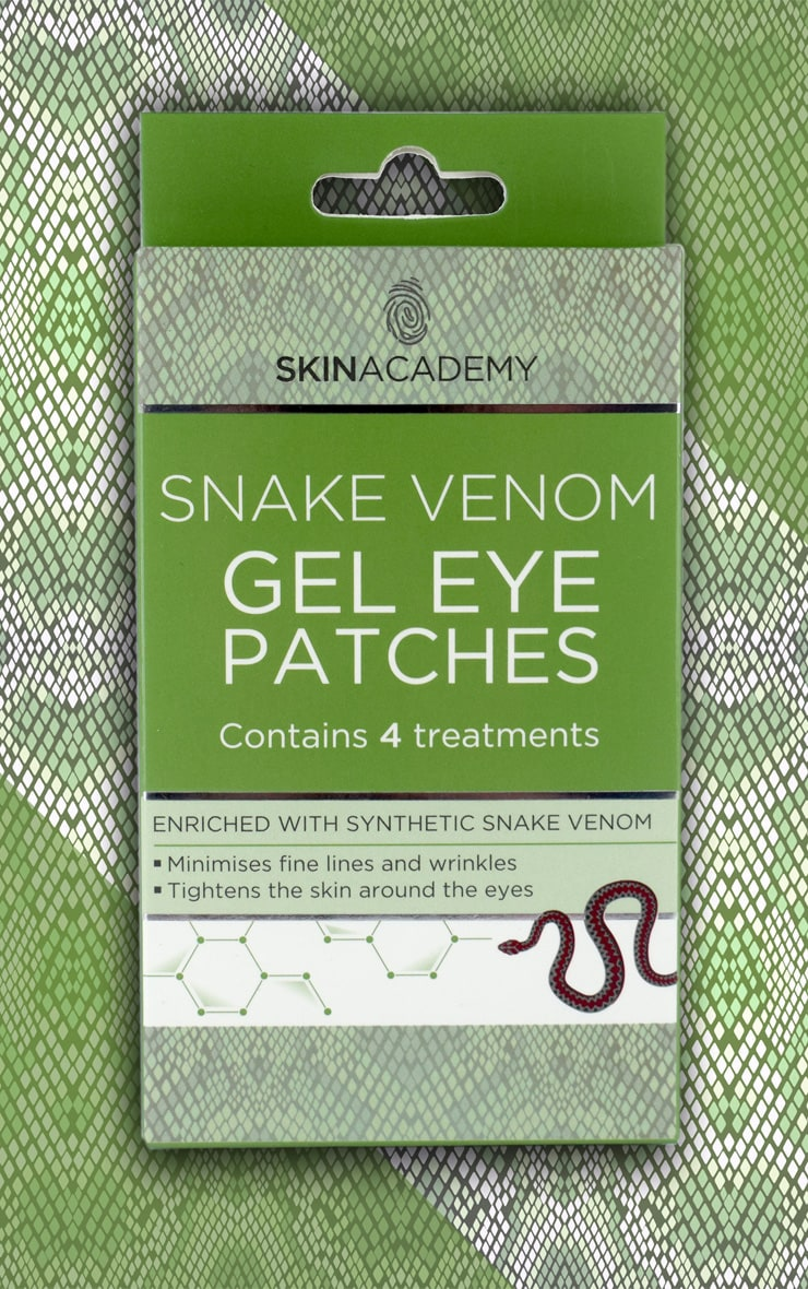 Skin Academy Gel Eye Patches Snake Venom 3