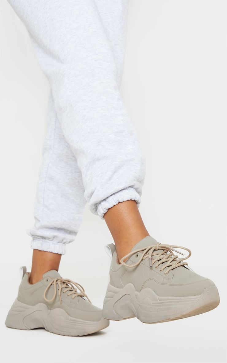 Sand Extreme Platform Sole Chunky Sneaker 2