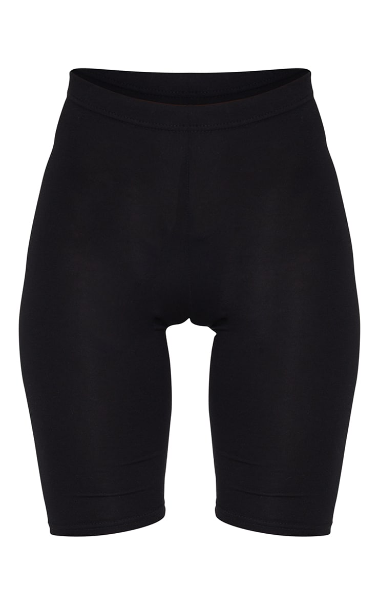 Short cycliste basique noir 6