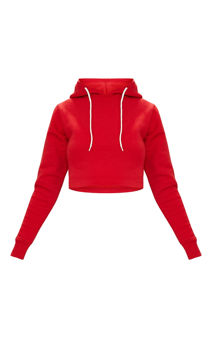 Red Ultimate Fleece Hoodie 3
