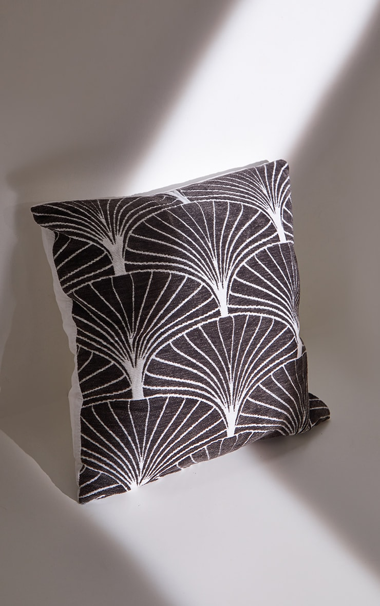 Charcoal Palermo Cushion Cover 4