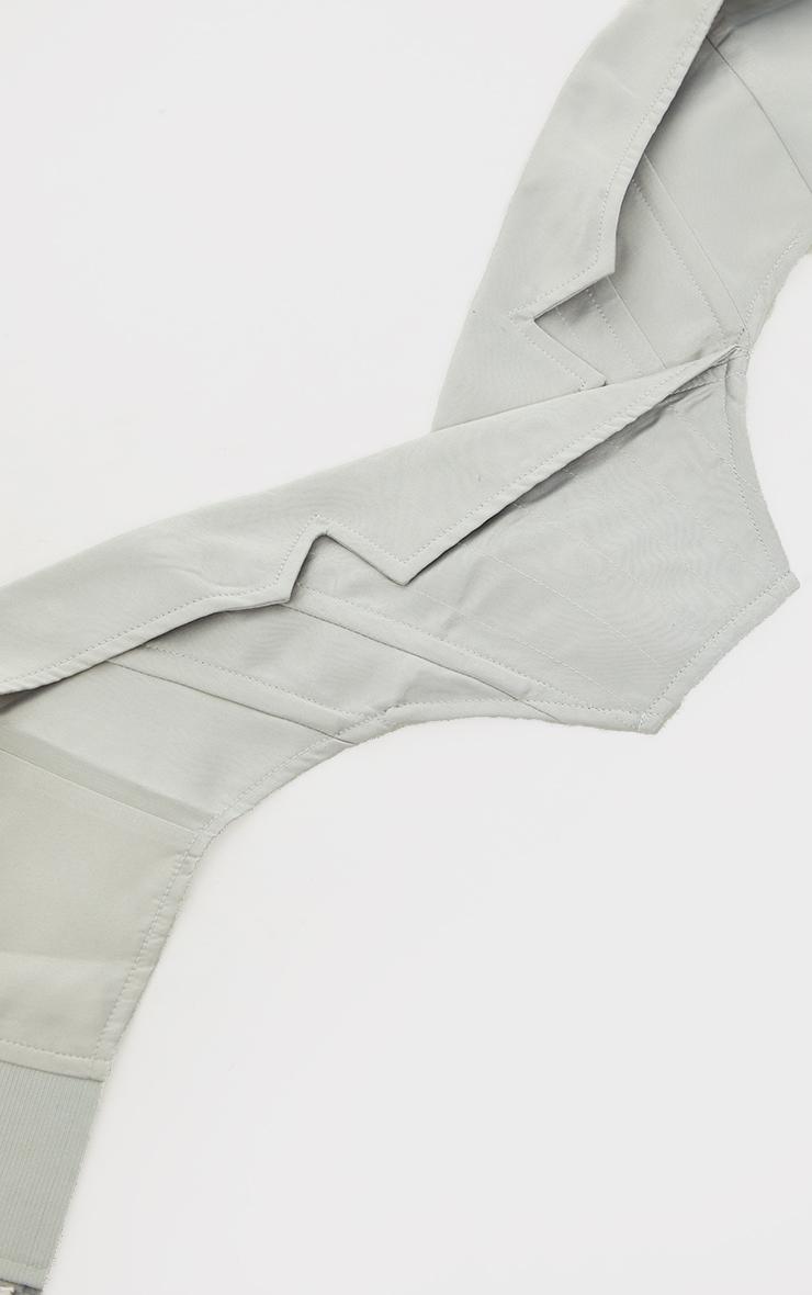 Stone Collar Detail Corset Belt 2