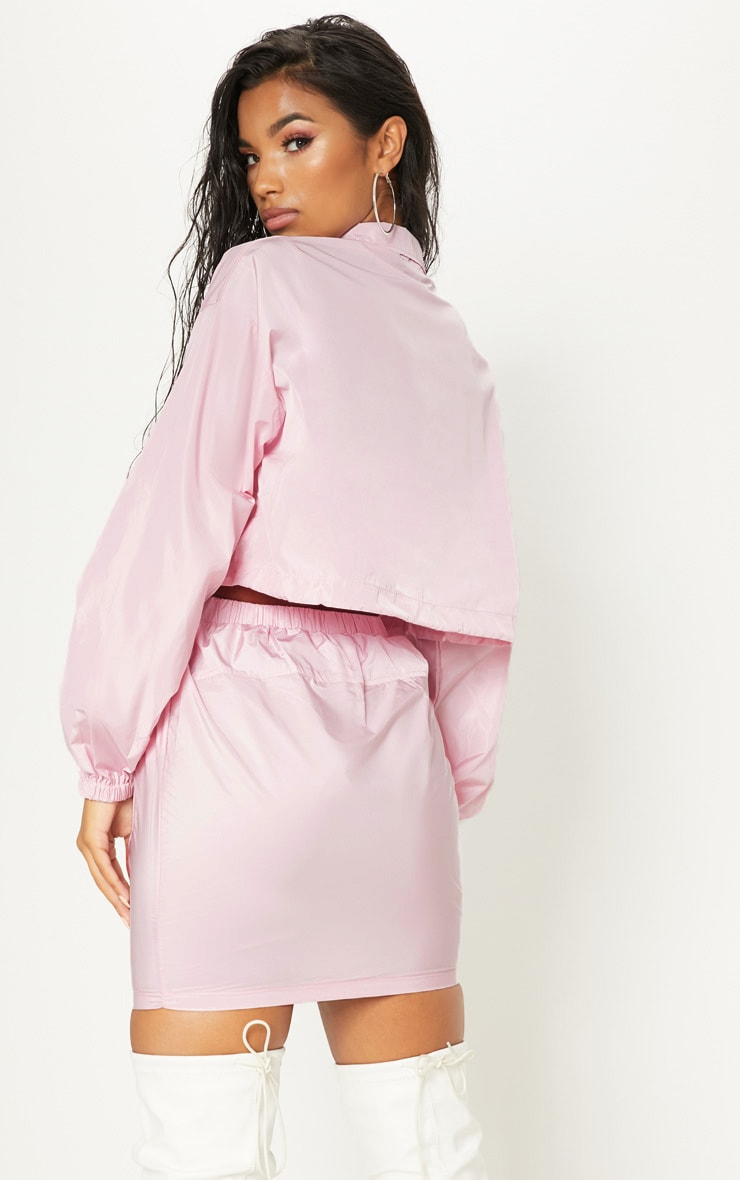 Pink Shell Suit Jacket 2