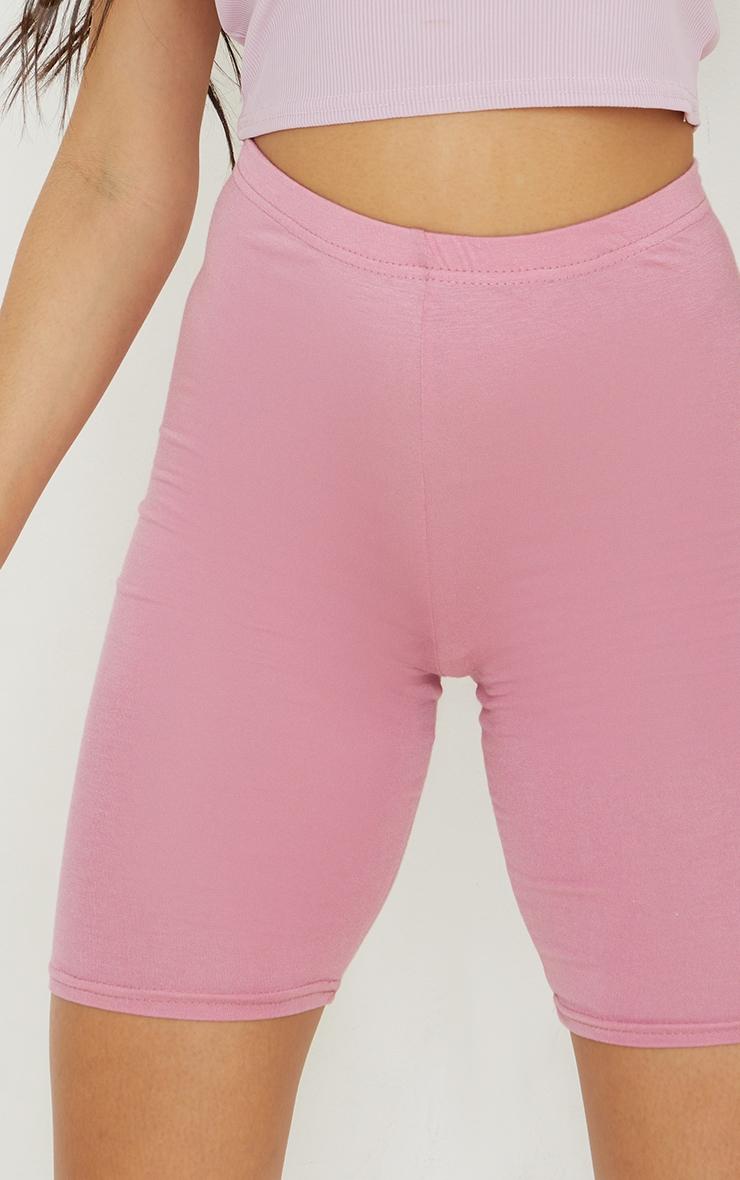 Dusty Rose Basic Cycle Shorts 5