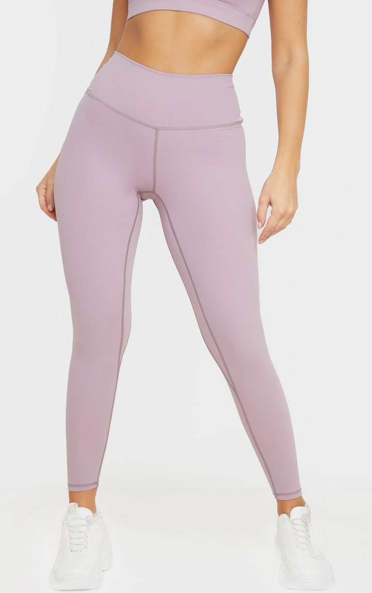 Mauve Sculpt Luxe High Waist Gym Legging 2
