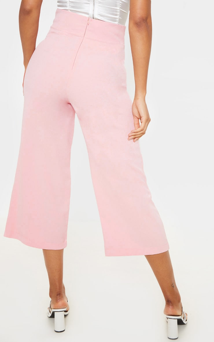 Tazmin Blush High Waisted Culottes 4
