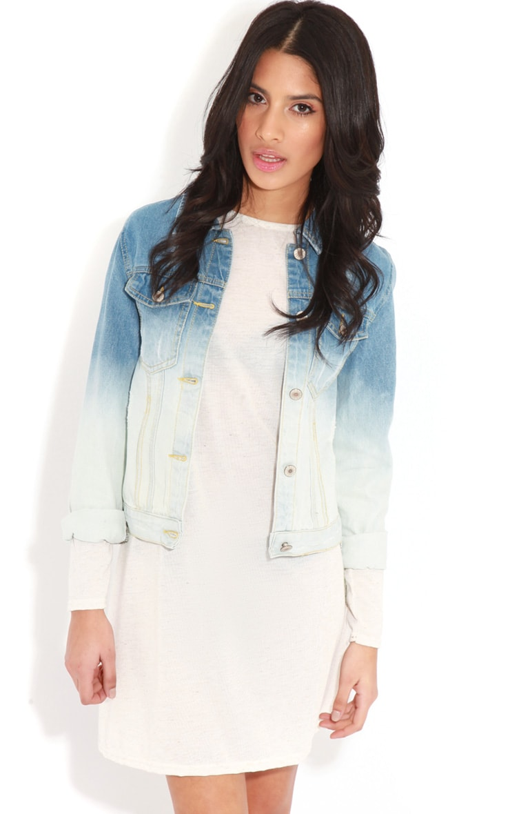 Rebecca Faded Denim Jacket 4