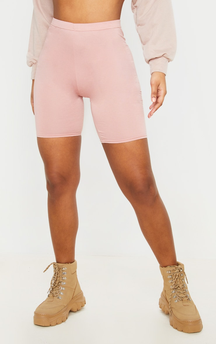 Basic Dusty Rose Cycle Shorts 2